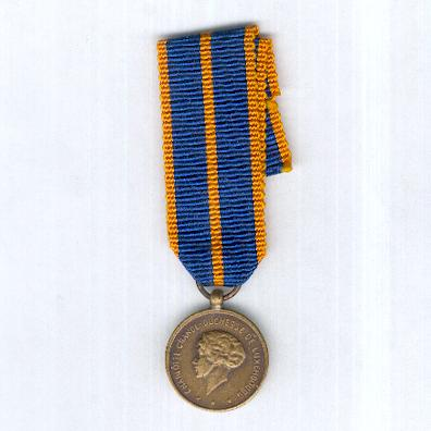 Military Medal (Médaille Militaire), miniature