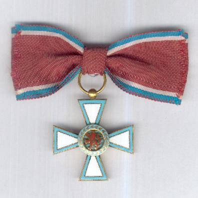 Order of Merit of the Grand Duchy of Luxembourg, dame (Ordre de Mérite du Grand-Duché de Luxembourg, dame chevalier)