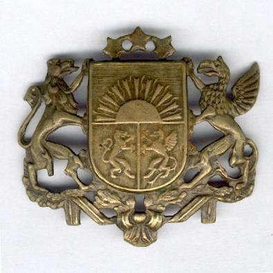 Latvian National Large Coat of Arms badge, 1918-1940 issue
