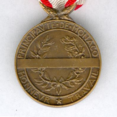 Medal for Work, bronze (Médaille du Travail de bronze) in original fitted embossed case of issue