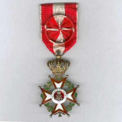 Order of Saint Charles, officer (Ordre de Saint Charles, officier)