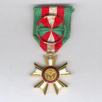 National Order of the Republic of Madagascar, First Republic, officer (Ordre National de la Republikan'i Madagasikara, 1ère République, officier), 1958-1975 issue by Arthus Bertrand of Paris
