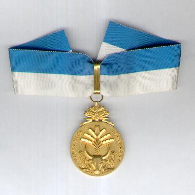 Order of Merit, commander (Order du Mérite, commandeur), 1960-1975 issue by Arthus Bertrand & Cie. Of Paris