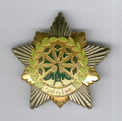 Order of the Star of the Revolution, 3rd class, probable collector's copy
