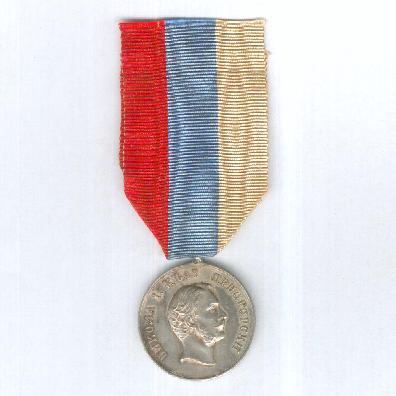 Medal for Zeal, silver