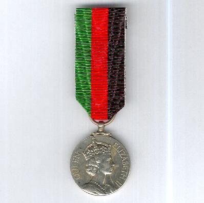 Malawi Independence Medal 1964, unnamed as issued