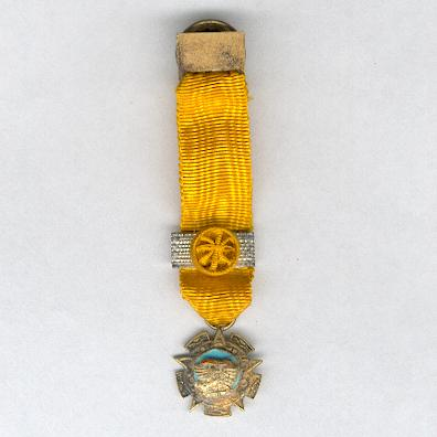 Order of the Aztec Eagle, III class (Orden Mexicana del Aguila Azteca, IIIa clase), miniature