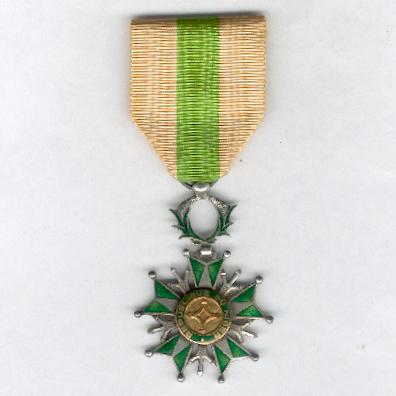 National Order of Niger, knight (Ordre National de Niger, chevalier)