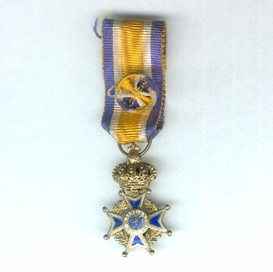Order of Orange-Nassau, civil division, officer (Orde van Oranje Nassau, civiele divisie, officier), miniature