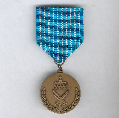 Royal Norwegian Air Force National Service Medal (Luftforsvaret vernepliktsmedaljen)