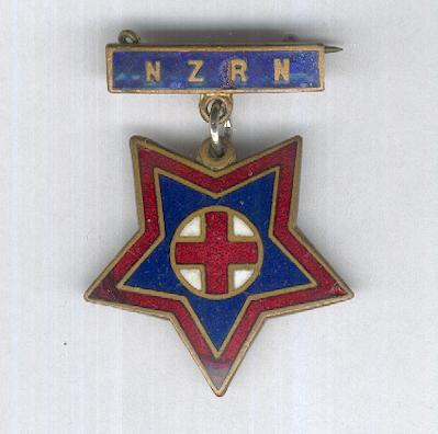 New Zealand Registered Nurse's Qualification Badge, attributed