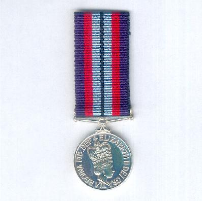 New Zealand Armed Forces Award, miniature