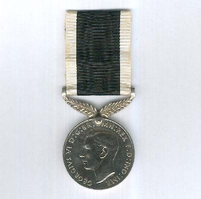 New Zealand War Service Medal, 1939-1945, unnamed as issued