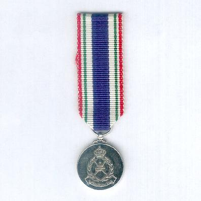Royal Oman Police Meritorious Service Medal, miniature