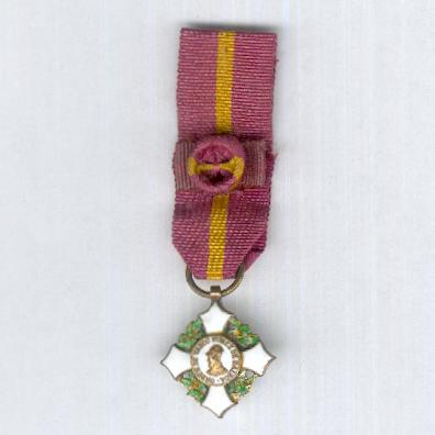 Order of Vasco Nunez de Balboa, grand cross (Orden de Vasco Núñez de Balboa, gran cruz), miniature