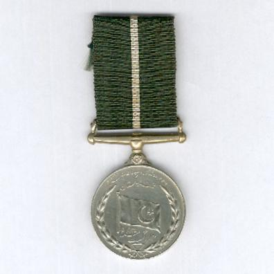 Pakistan Independence Medal, 1947 (Pakistan Tamgha, A.H. 1366), attributed, 14th Punjab Regiment