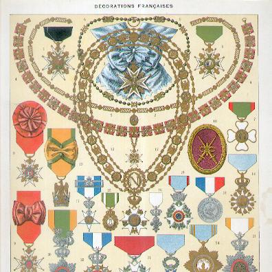 French Decorations I (Décorations Françaises I), 1932