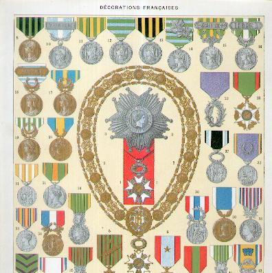 French Decorations II (Décorations Françaises II), 1932
