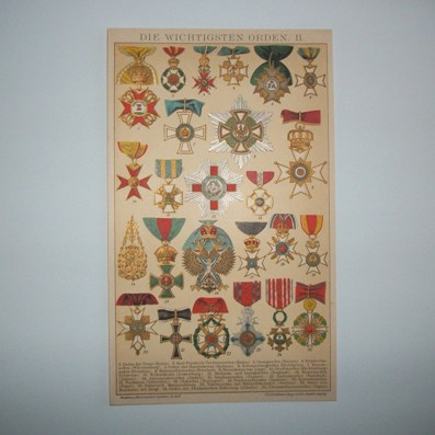 The Most Important Orders II (Die Wichtigsten Orden II), 1892