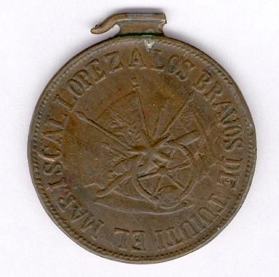 Medal for Tuiuti, 1867