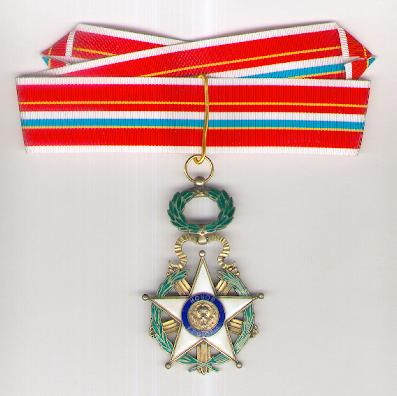 National Order of Merit, commander (Orden Nacional del Mérito, encomienda)