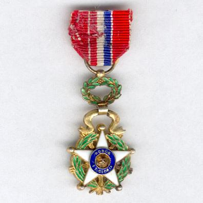 National Order of Merit, knight (Orden Nacional del Mérito, caballero), miniature