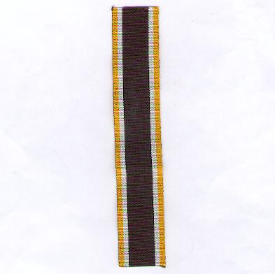 GERMANY, PRUSSIA. Ribbon for the Commemorative Cross for 1866, combatant (PREUSSEN. Ordensband für das Erinnerungskreuz 1866, Kämpfer)