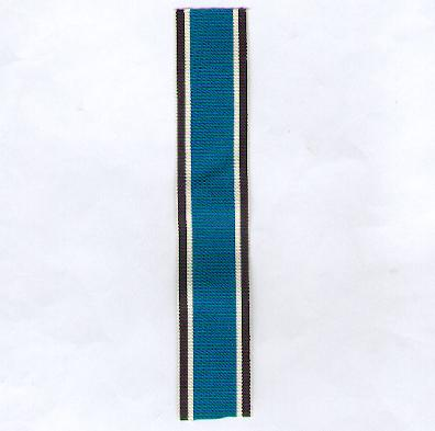 GERMANY, PRUSSIA. Ribbon for the Duppel Storm Cross, combatant (PREUSSEN. Ordensband für das Düppeler Sturmkreuz, Kämpfer)