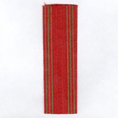 BELGIUM. Ribbon for the War Cross (Croix de Guerre / Ooorlogskruis), 1940-1945