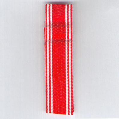JAPAN. Ribbon for Medals of the Imperial Red Cross Society (日本赤十字社 nihon sekijūji sha)