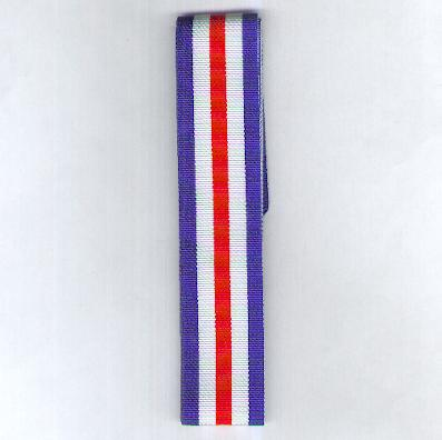 GREAT BRITAIN. Ribbon for the France and Germany Star, 1944-1945