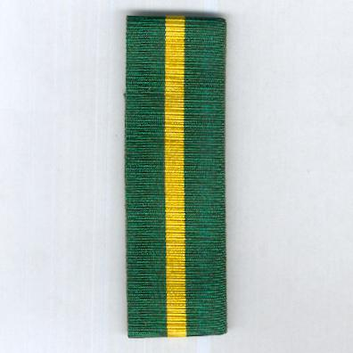 GREAT BRITAIN. Ribbon for the Territorial Force Efficiency Medal