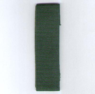 GREAT BRITAIN. Ribbon for the Volunteer Long Service and Good Conduct Medal