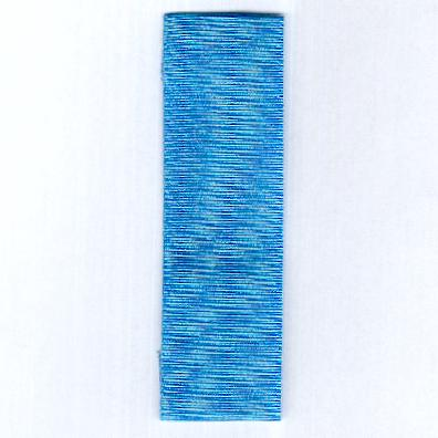 UNITED NATIONS. Ribbon for the Medal for Service in the United Nations Headquarters (UNHQ)