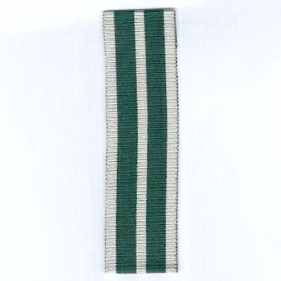GREAT BRITAIN. Ribbon for the Royal Naval Reserve Long Service and Good Conduct Medal 1941-1958