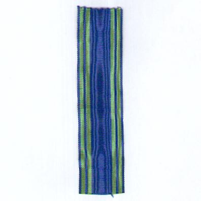 FRANCE. Ribbon for the Order of Maritime Merit, knight (Coup de ruban pour l' Ordre du Mérite Maritime, chevalier)