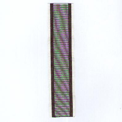 GERMANY, PRUSSIA. Ribbon for the Kyffhäuser Cross of Merit (PREUSSEN. Ordensband für das Kyffhäuser-Verdienst-Kreuz)