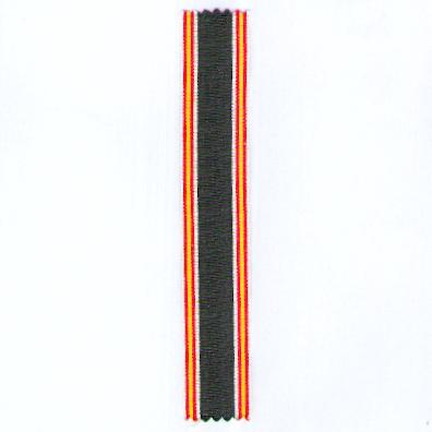 GERMANY, THIRD REICH. Ribbon for the Spanish Cross (DEUTSCHLAND DRITTES REICH. Ordensband für das Spanienkreuz)