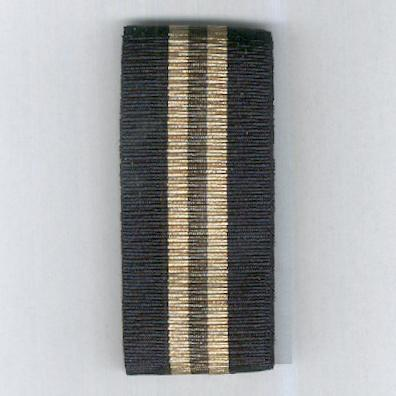 UNCERTAIN RIBBON. Black / beige / olive green / beige / black