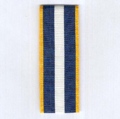 GREECE. Ribbon for the Medal of Military Merit since 1974