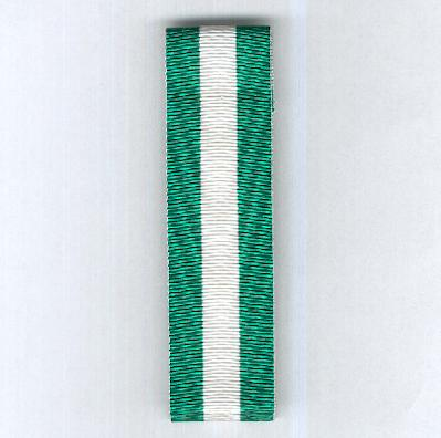ITALY. Ribbon for the Cross for Long Military Service (Nastro per la Croce per Anzianità di Servizio Militare)