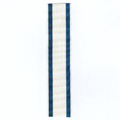 GERMANY, BAVARIA. Ribbon for the Order of Military Merit, III Class Cross (BAYERN. Ordensband für die Militär-Verdienstorden, Kreuz III. Klasse), 1905-1918