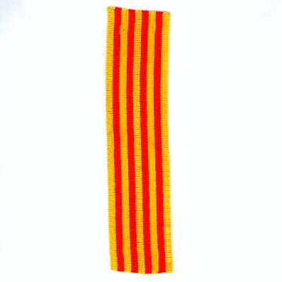 SPAIN. Ribbon for Catalan Medals (ESPAÑA. Cinta para las Medallas Catalanes)
