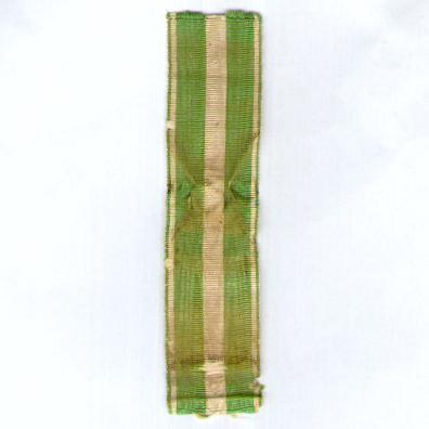 FRANCE. Ribbon for the Medal for Morocco (Coup de ruban pour la Médaille de Maroc)