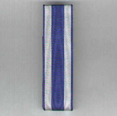CZECHOSLOVAKIA. Ribbon for the Military Medal for Merit (Medaila za Zásluhy) 1943