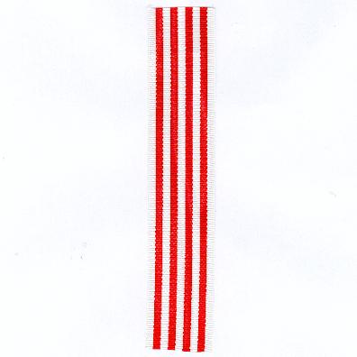 GERMANY, BREMEN. Ribbon for the Hanseatic Cross 1914-1918 (BREMEN. Ordensband für das Hanseatenkreuz 1914-1918)