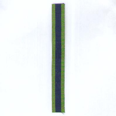 GREAT BRITAIN. Ribbon for the India General Service Medal 1908-1935, miniature