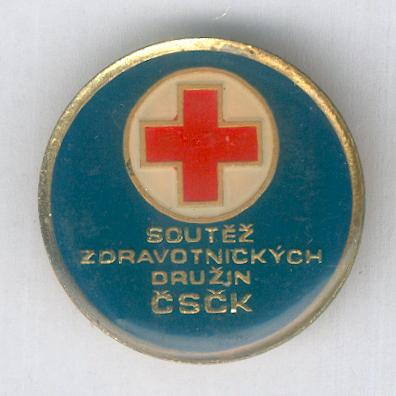 Czechoslovak Red Cross Competition Badge, 1977