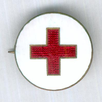 Finnish Nurse's Badge, attributed to Fanny Iren Nyholm