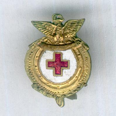 Mexican Red Cross Badge (Distintivo de la Cruz Roja Mexicana)